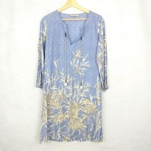 Soft Surroundings Shell Seeker Tunic Top Cover-up